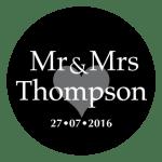 Mr & Mrs Monogram 28