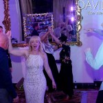 Bride dancing at Walton Hall Wedding