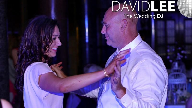 Wedding Guests Dancing At Rochdale Venue
