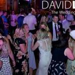 Bride and guests dancing at Worsley Wedding