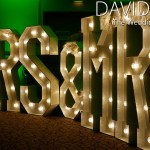 Mrs & Mrs Name In Lights