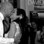 First Dance Kiss at Leighton Hall wedding