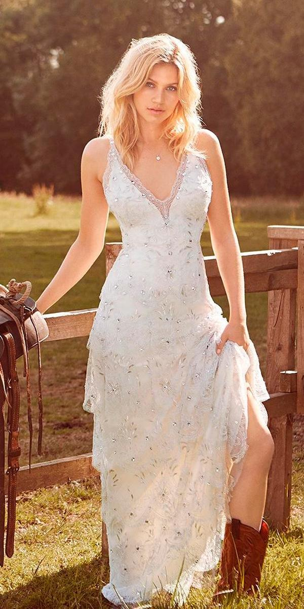 Rustic Wedding Dresses With Cowboy Boots Free Shipping Off67 Id 54