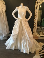 Taffeta Gown by Rosa Clara. Great condition. Size 14.