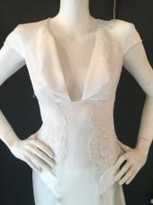 Peplum hip dress by David Fielden. Good condition. Size 14.