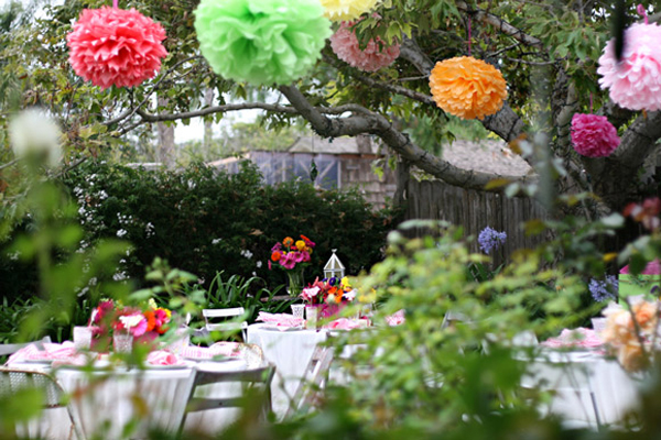 Decor Ideas For The Outdoor Wedding Showers