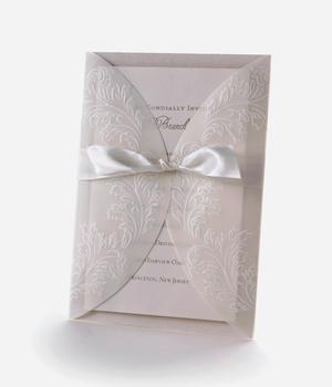 cheap wedding invitation from Michael's
