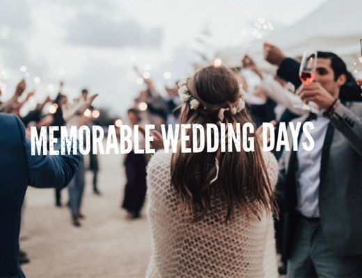 Memorable Wedding Days