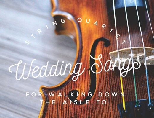 String Quartet Wedding Songs For Walking Down The Aisle To With Lynette Webster