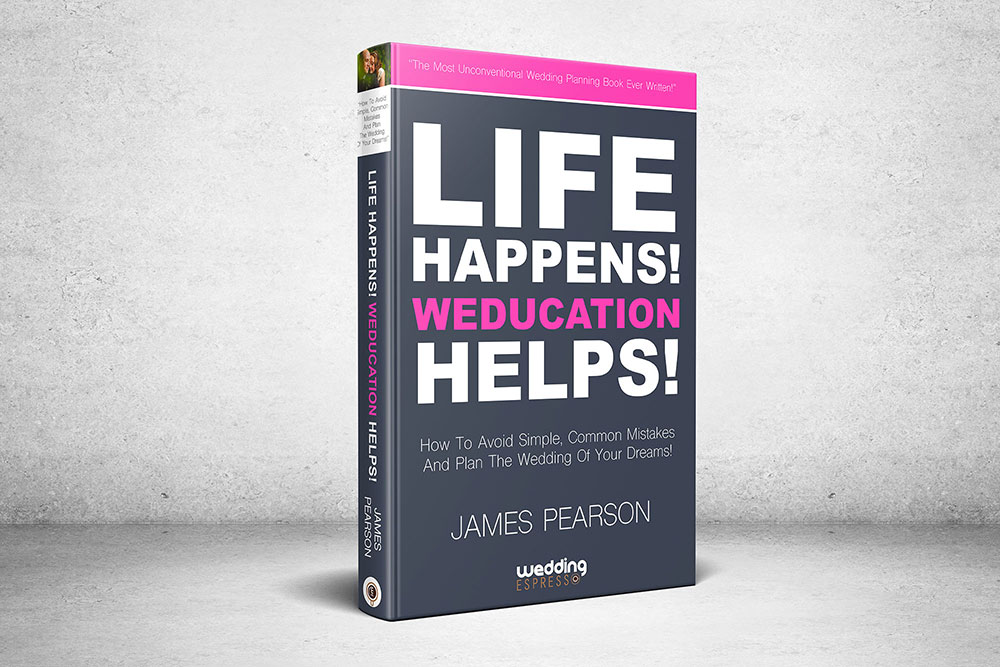 Life Happens! Weducation Helps! Book From Wedding Espresso
