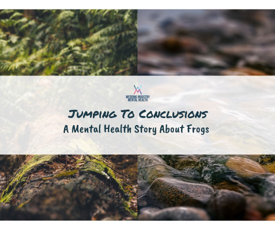 Wedding Industry Mental Health - Jumping To Conclusions Frog Story
