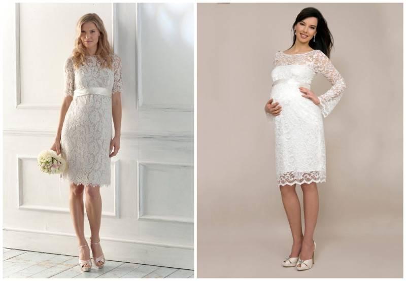Stunning Wedding Dresses For Pregnant Brides