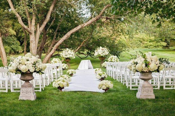 5 Cute Outdoor Wedding Ideas