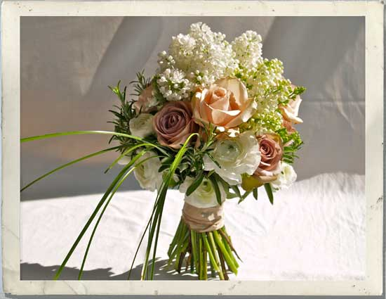 A Wedding Flower Bouquet Can Be Fragrant And Beautiful To