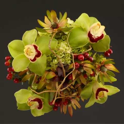 Picture Of  Exotic And Tropical Bouquet