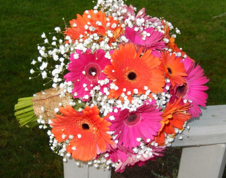 Gerber Daisy Bridal Bouquet
