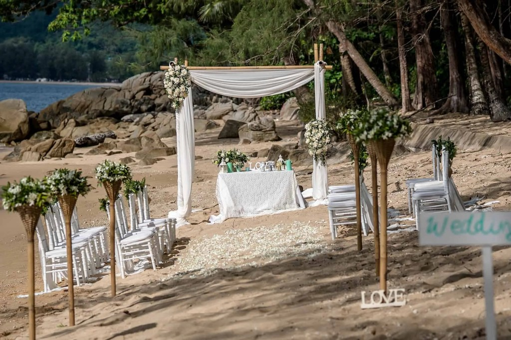 Adam & Yu Beach Wedding 25th May 2019 Hua Beach 3