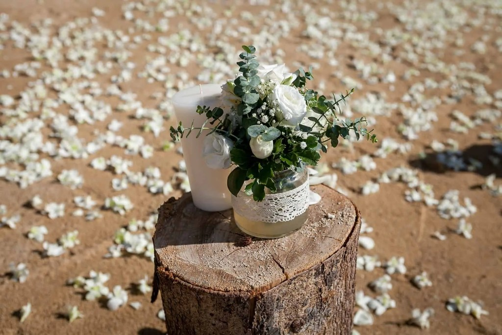 Chris & Caitlin Beach Wedding, Hua Beach 20th June 2019 9