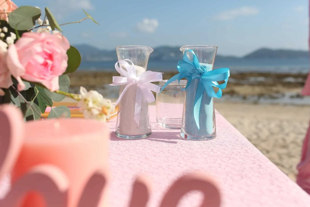 Tanya & Giorgio Beach Wedding 9th March 2019, Thavorn Beach Village 10