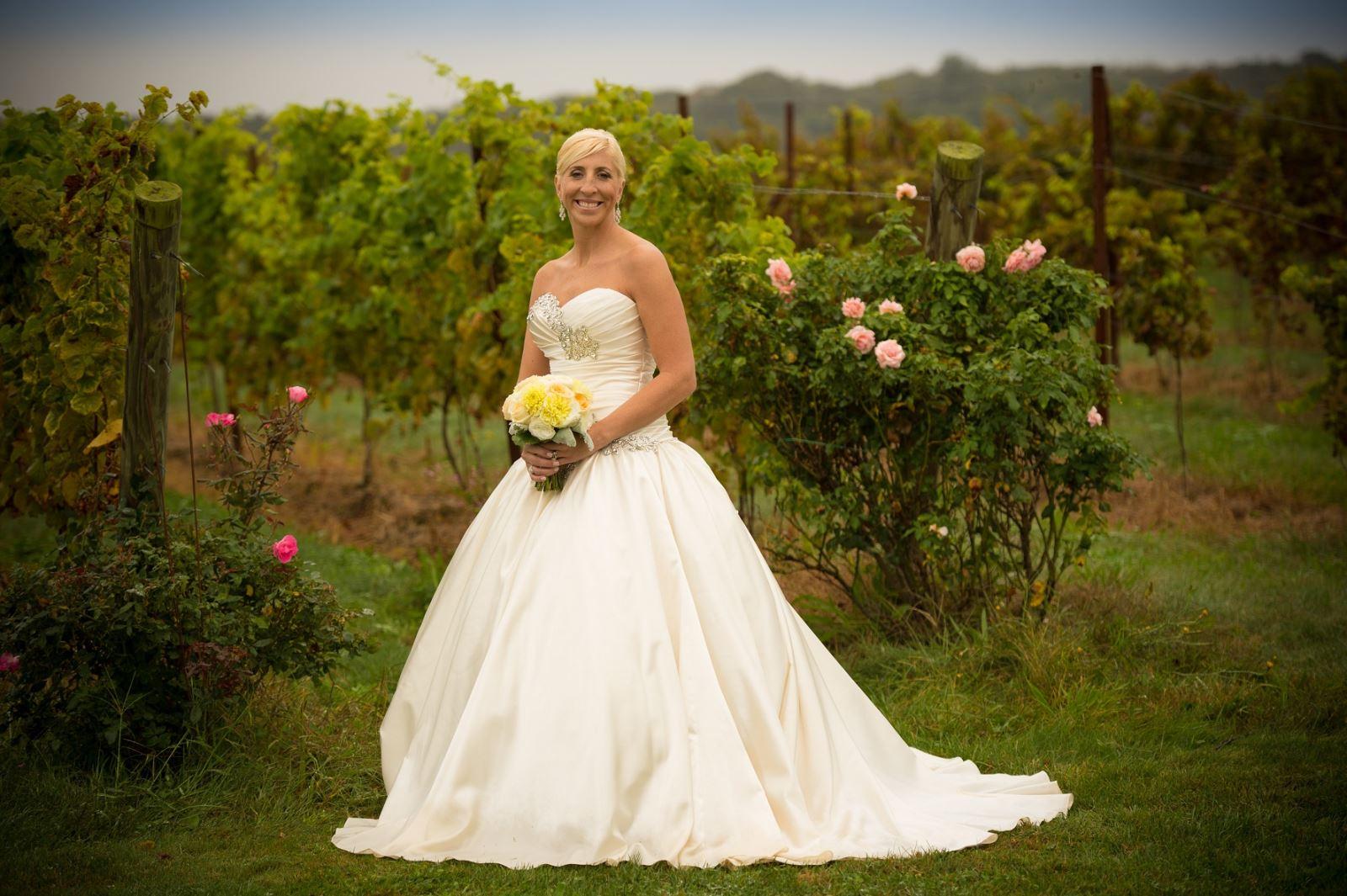 Danielle's Wedding Dress Preservation In Connecticut