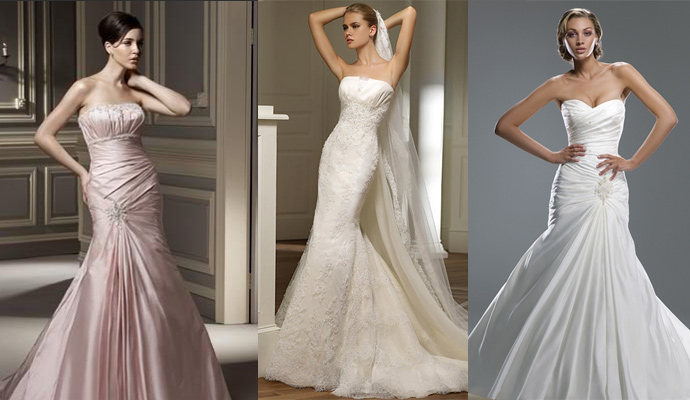 Top Six Wedding Dress Trends For 2009/2010