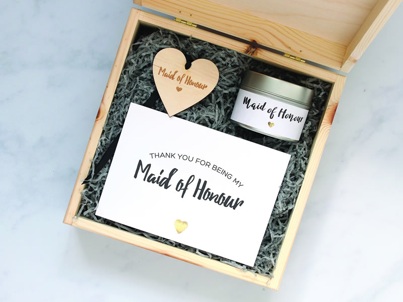 Heartfelt Bridesmaid And Maid Of Honour Gifts