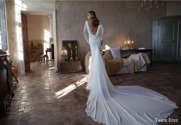 Tarik Ediz White 2015 Wedding Dresses