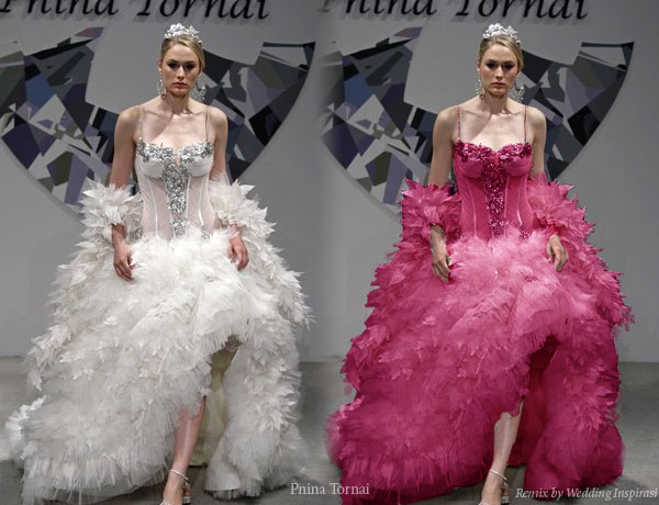 The Ultimate Pink Wedding Dress Entry