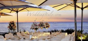 South Amalfi Coast luxury wedding venue