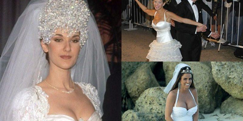 Top 10 Worst Celebrity Wedding Dresses Ever!