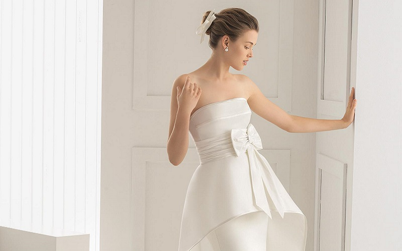 Best Peplum Wedding Dresses To Flatter Your Figure