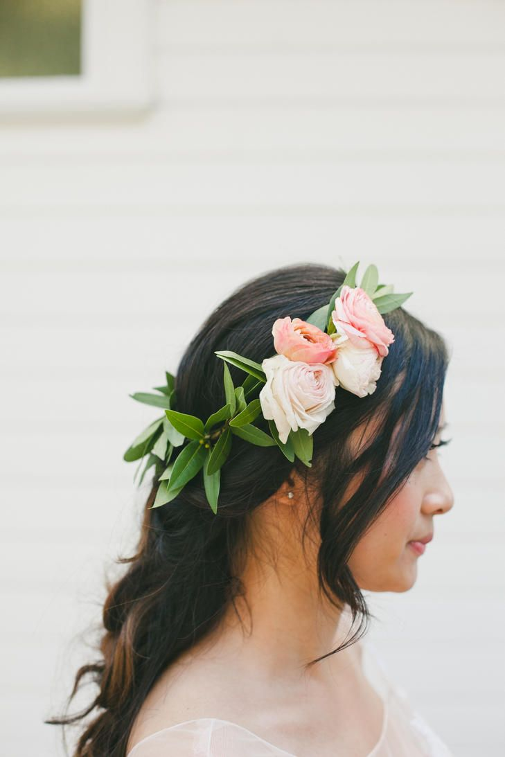 Wedding Crowns Fresh Modern Flower Crown With Garden
