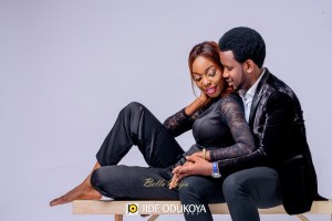 """#The Banjokos17: Saxophonist Beejay Shares Pre-Wedding Photos With His """"Partner Forever"""""""