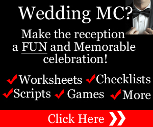 To Be A FUN Wedding MC
