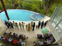 Wedding Photography at Casa Fantastica Costa Rica by John Williamson