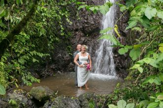 Costa Rica Rainforest Wedding Photography by John Williamson