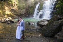 Waterfall Wedding in Costa Rica by John Williamson Phototgraphy
