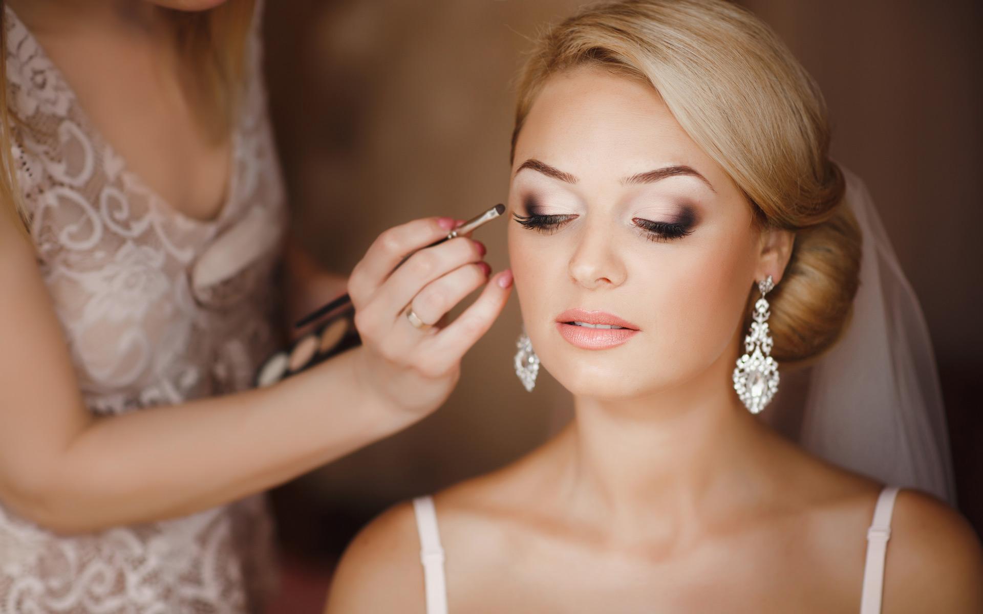 bridal hair make up trial bridal beauty wedding hair