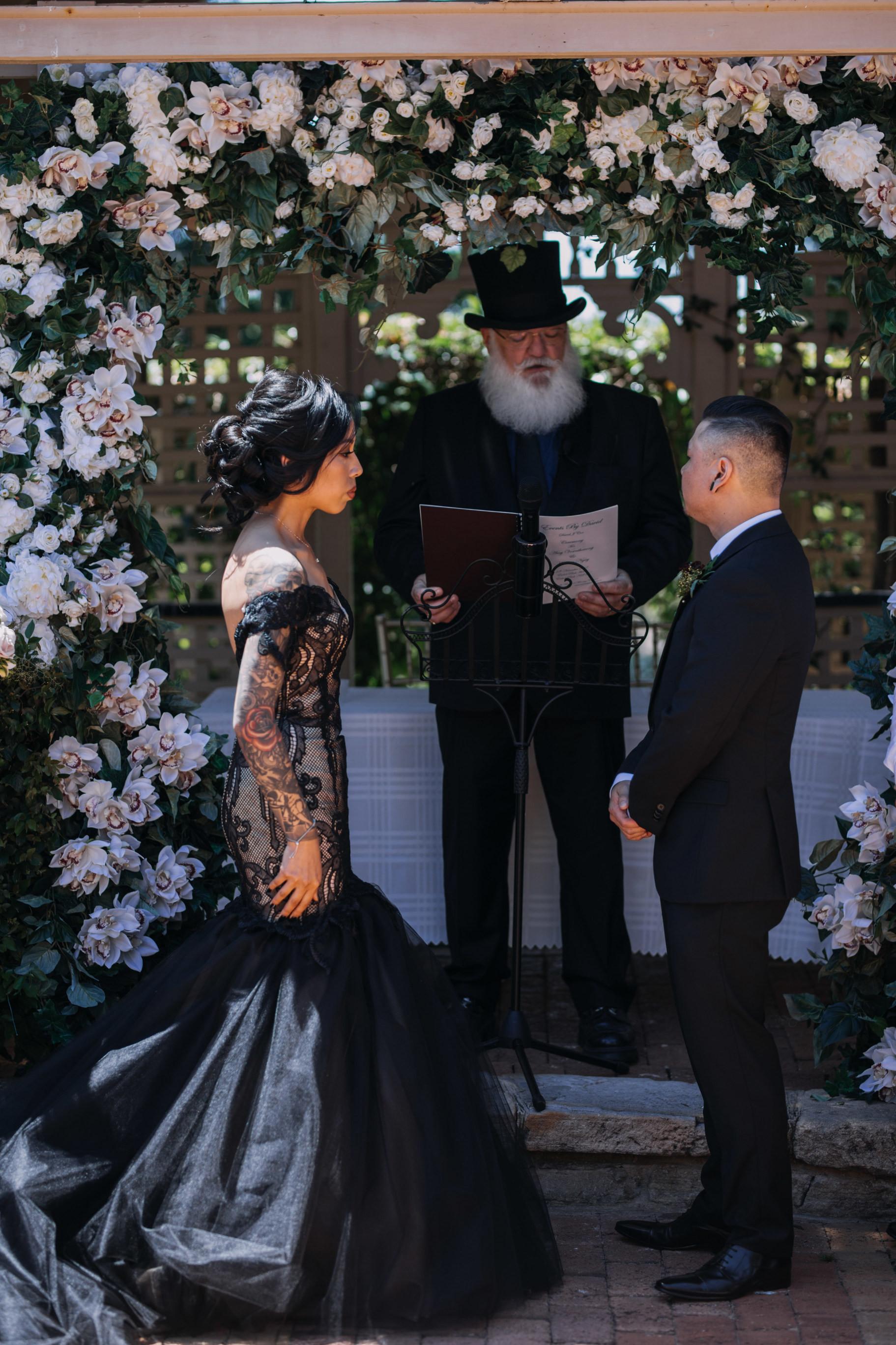 boda gótica