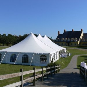Pole Tents Metro Rental Wedding Amp Event Rentals Outer Banks