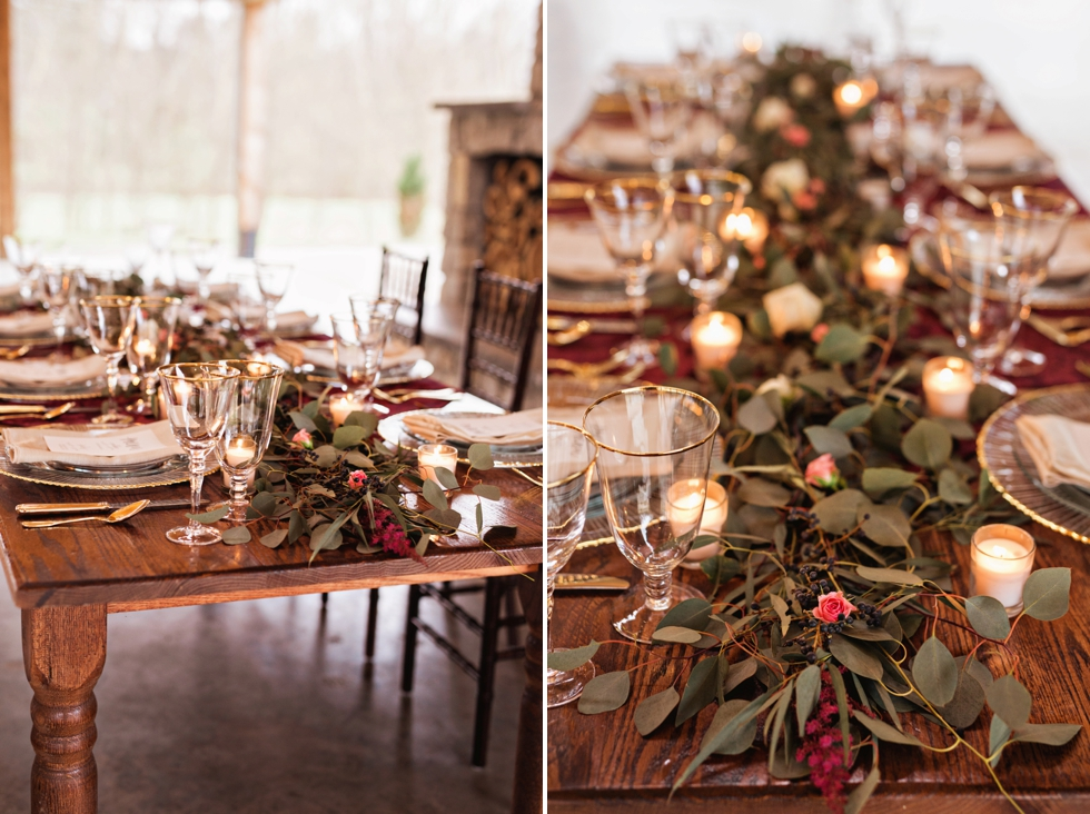 Homestead Manor Wedding | Rustic Winter Wedding Inspiration | Nashville Wedding Photographer