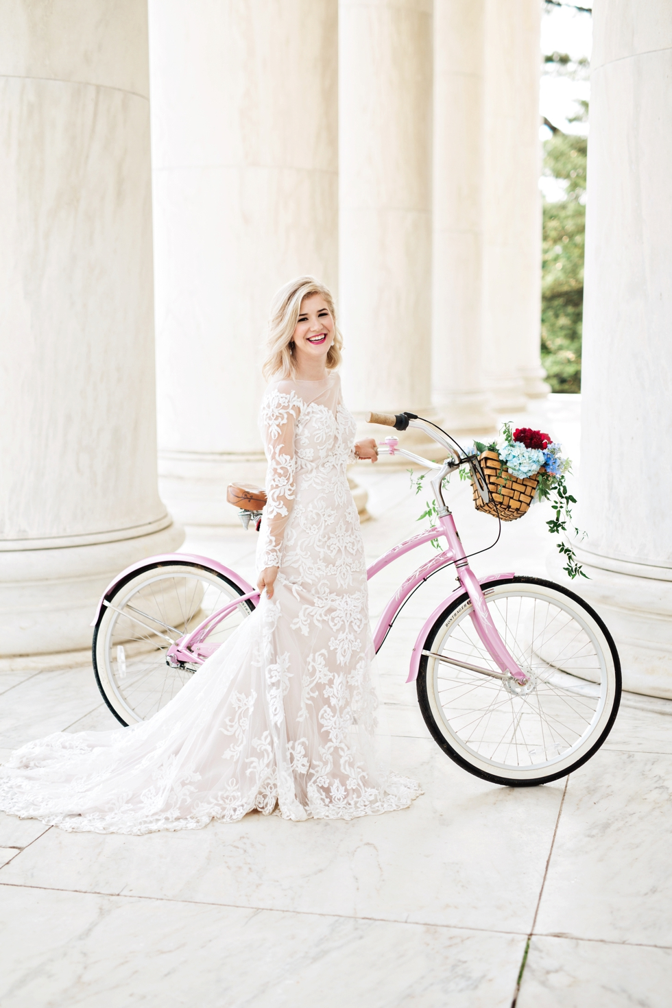 Washington DC Wedding Photographer at Jefferson Memorial