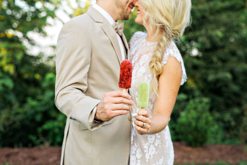 Las Paletas Popsicles Wedding Popsicles
