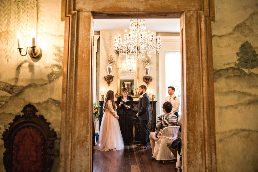 Riverwood Mansion Elopement Intimate Wedding Photographer