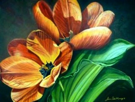 Joanne Massey Tangerine Display