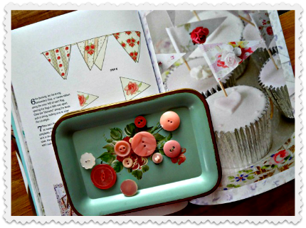 Tinkered Treasures Cupcake Flags & Bunting