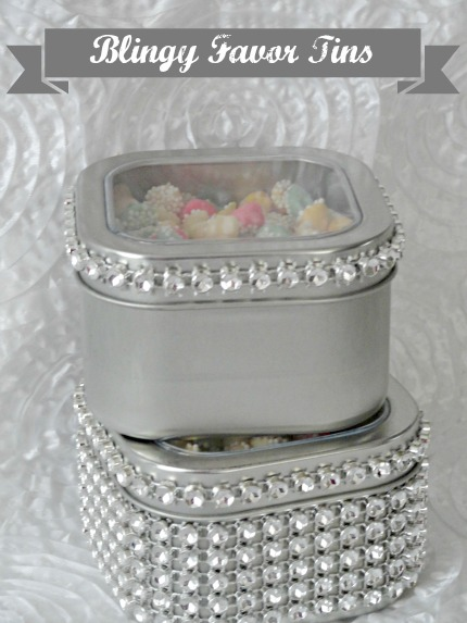 Blingy Favor Tins