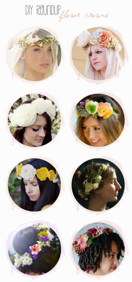 Flower Crown Tutorials Belle & Chic