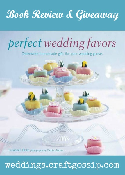 Perfect Wedding Favours Book Review & Giveaway