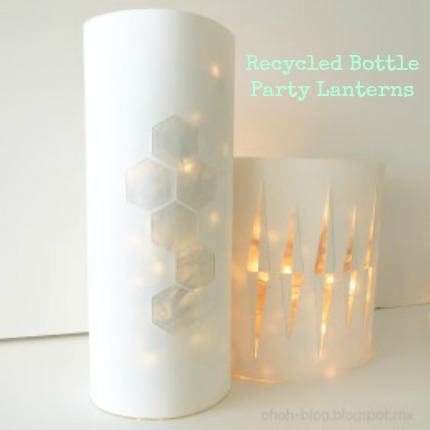 Plastic Bottle Lanterns craftbits.com